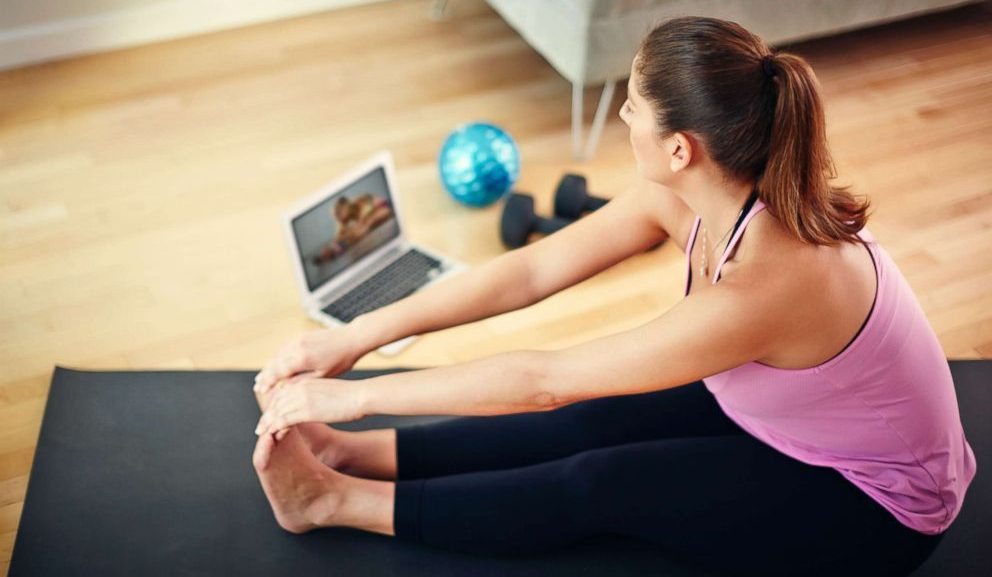 Online Core Strength & Stretch (Pilates) Classes 1